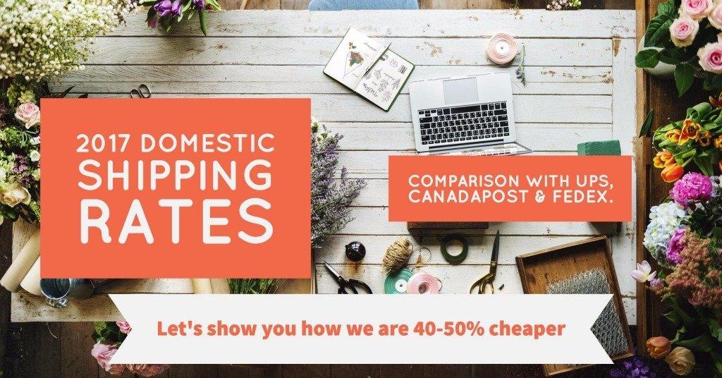 Compare Domestic Shipping Rates