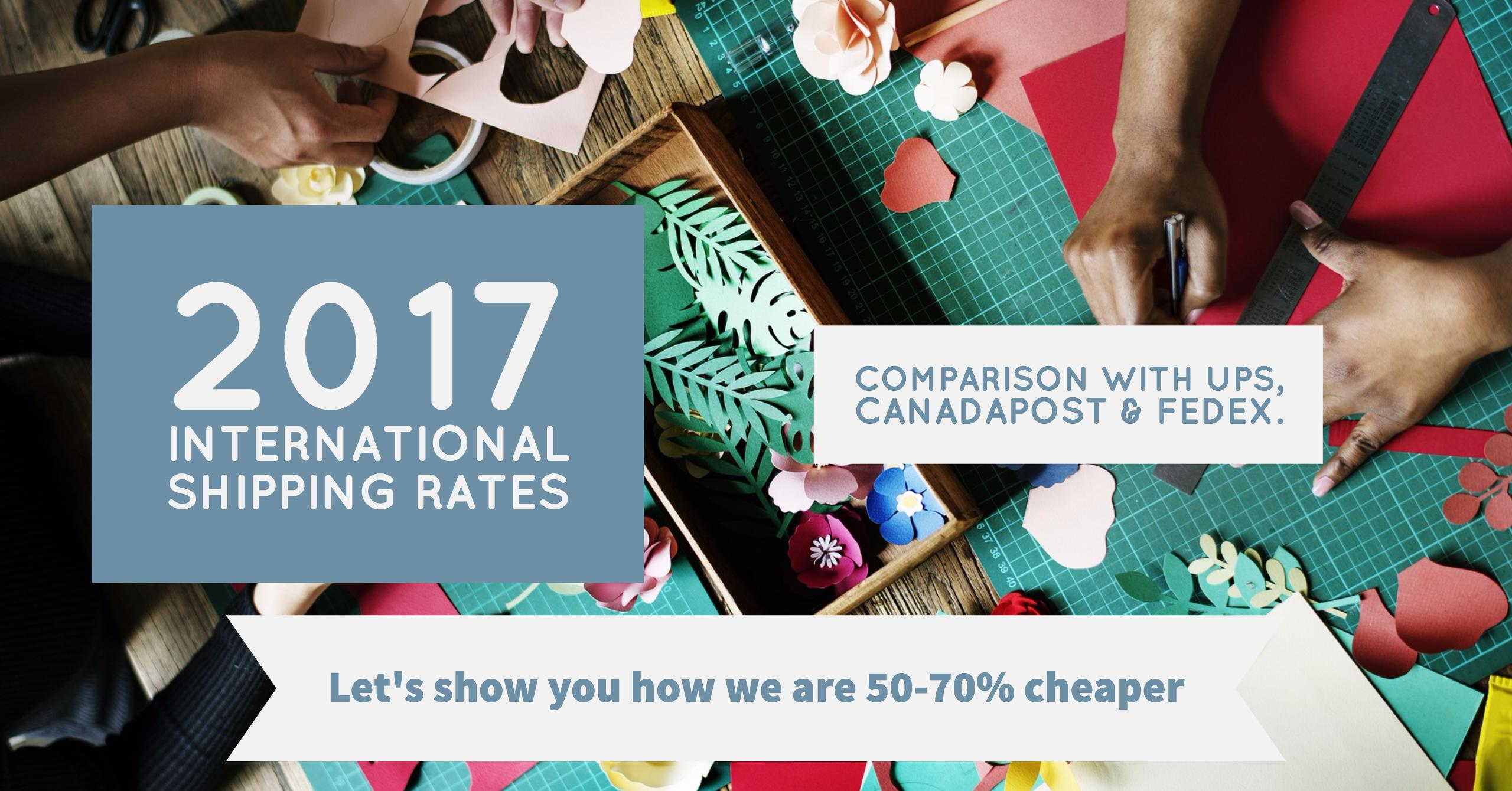 Compare International Shipping Rates